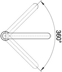 Смеситель Blanco ELOSCOPE-F II - схема