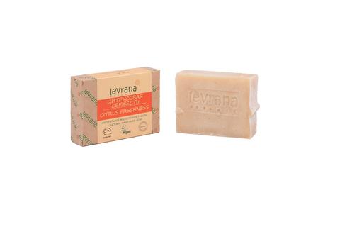 Levrana, Цитрусовая свежесть, натуральное мыло, 100гр