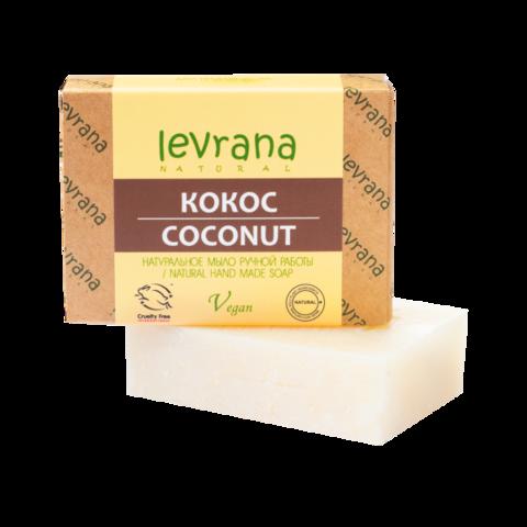 Levrana Натуральное мыло ручной работы Кокос, 100гр