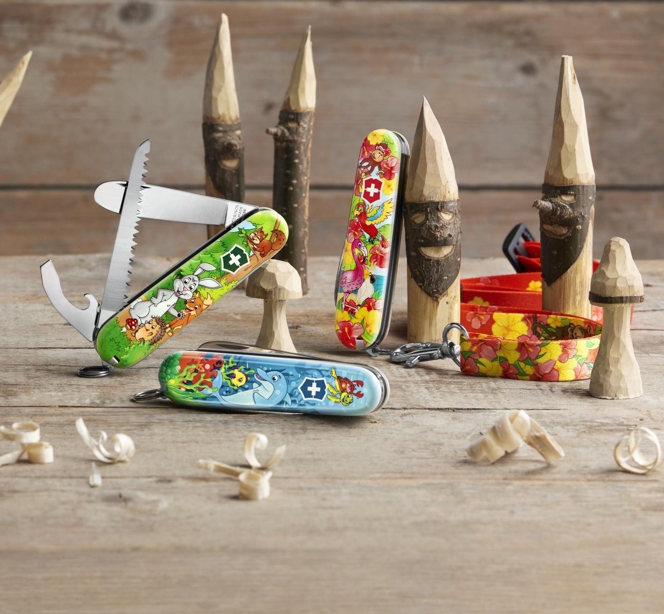 Швейцарский нож для детей My First Victorinox Children Sets, Animal Edition   Wenger-Victorinox.Ru