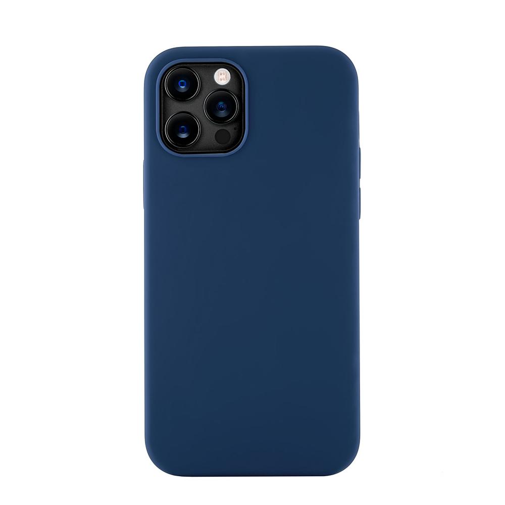 Чехол Leather Case для iPhone 12 Mini (Все цвета) синий.jpg