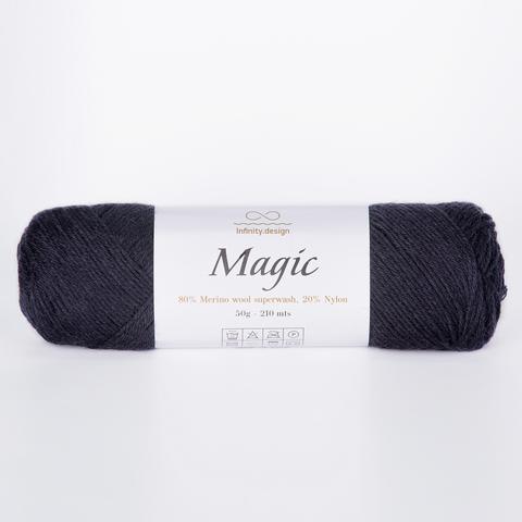 Пряжа Infinity Magic 1099 черный