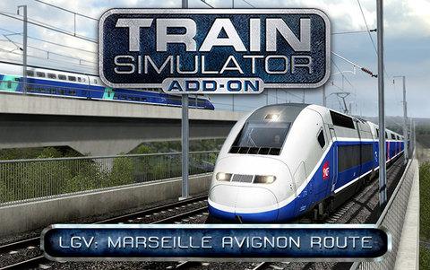 Train Simulator: LGV: Marseille - Avignon Route Add-On (для ПК, цифровой ключ)