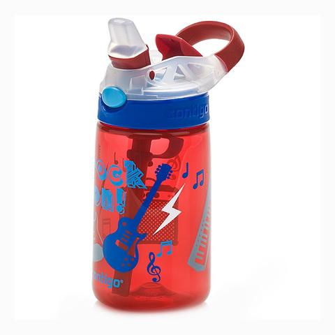 Бутылочка детская Contigo Gizmo Flip (0,42 литра), красная