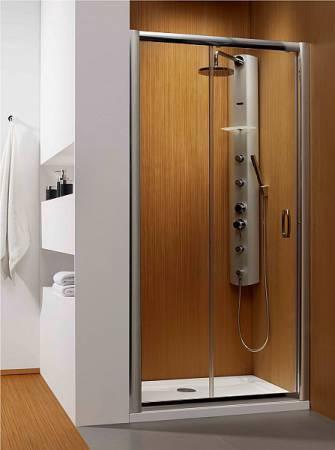Душевая дверь Premium Plus DWJ 1400*1900 хром/прозрачное 33323-01-01N