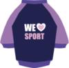 Спорт лиловый