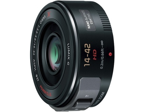 Объектив Panasonic Lumix G X Vario PZ 14-42mm f/3.5-5.6 Asph Power OIS H-PS14042-K Black