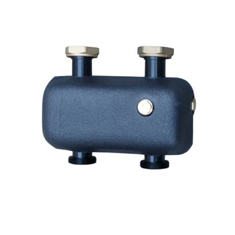 Разделитель гидравлический STOUT - 3 м3/час (горизонтальный)