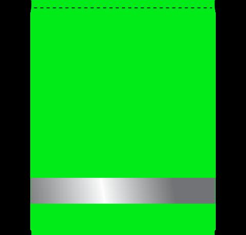 Мешок для сменной обуви 1 отд. 350х450мм Салатовый / Светоотражатель