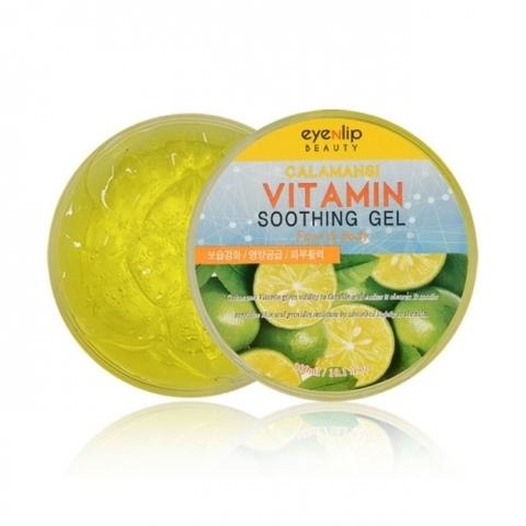 Универсальный успокаивающий гель с экстрактом каламанси EYENLIP Calamansi Vitamin Soothing Gel Face & Body