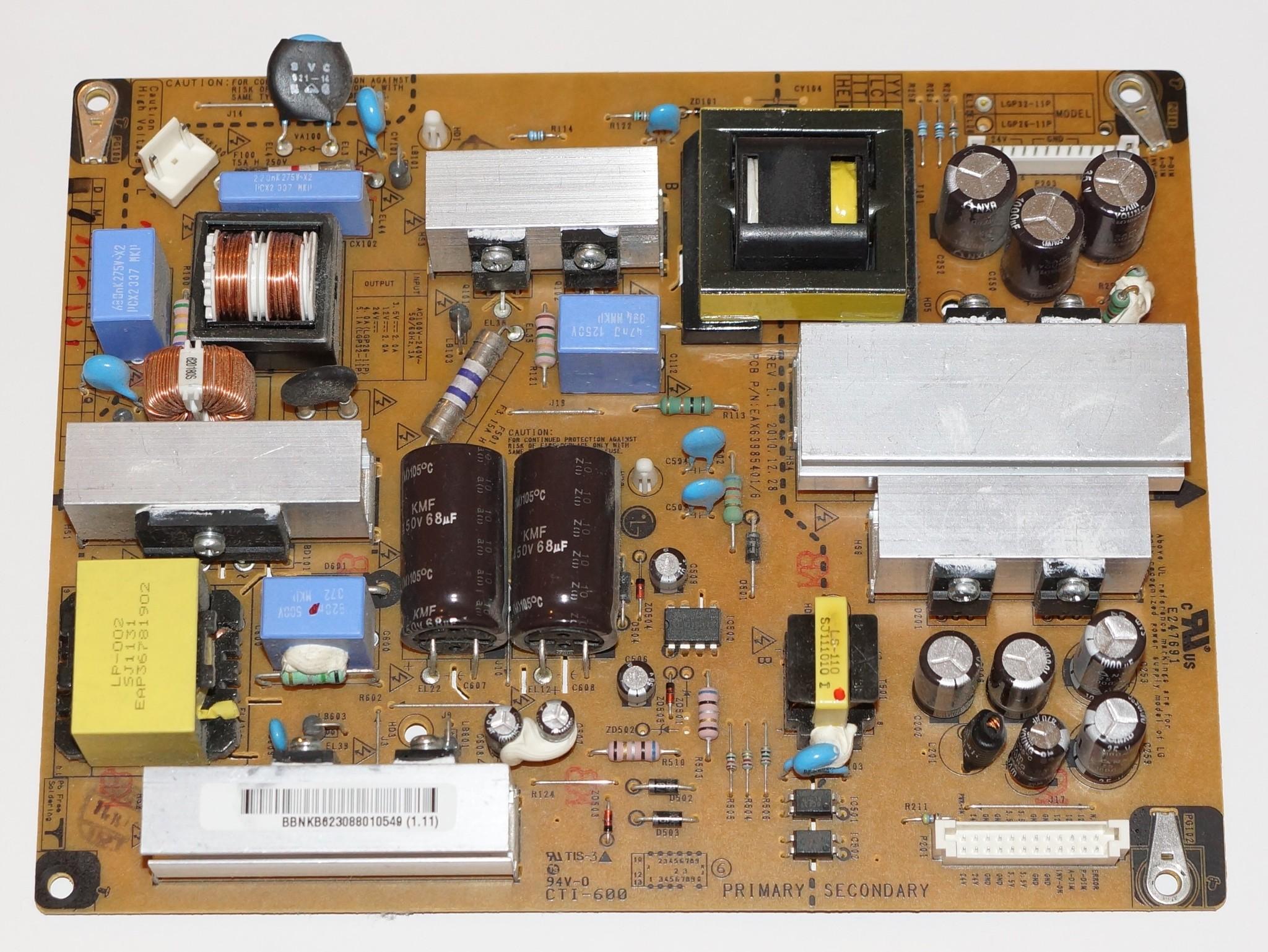 EAX63985401/6 LGP32-11
