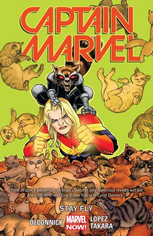 Captain Marvel TPB #2 Stay Fly (Marvel Now)