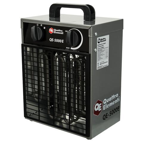 Нагреватель воздуха электрический QUATTRO ELEMENTI QE-5000 E  (3 / 5кВт, 220В, 400 м3/час) (248-559)
