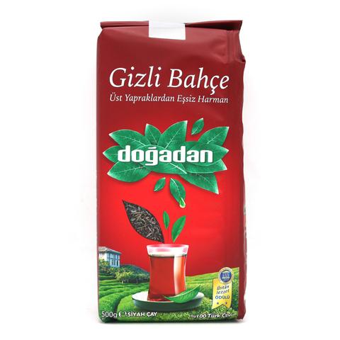 Турецкий черный чай Gizli Bahce, Dogadan, 500 г