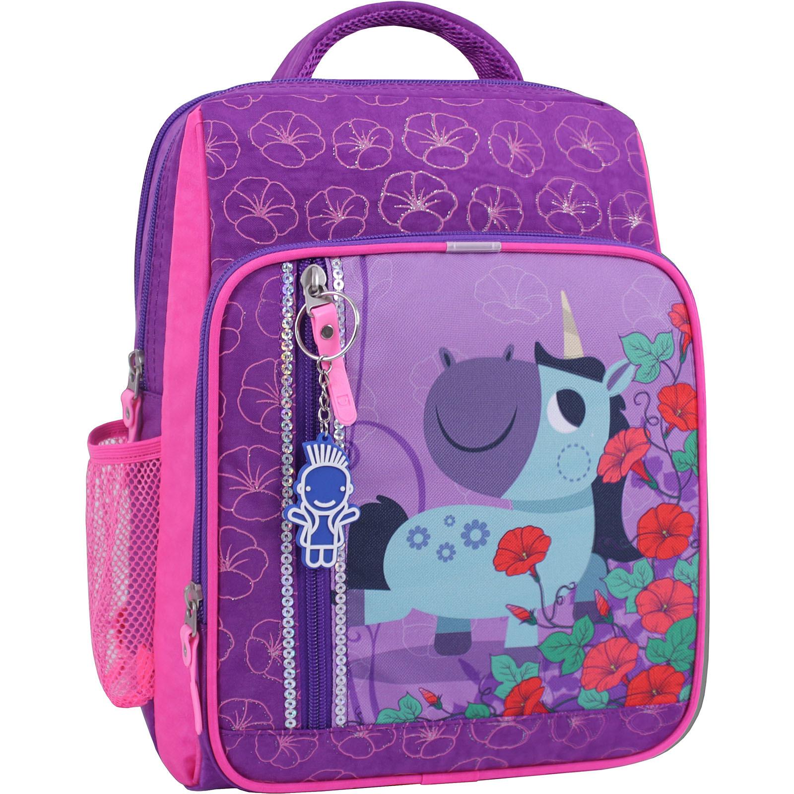 Рюкзак школьный Bagland Школьник 8 л. фиолетовый 498 (0012870) фото 1