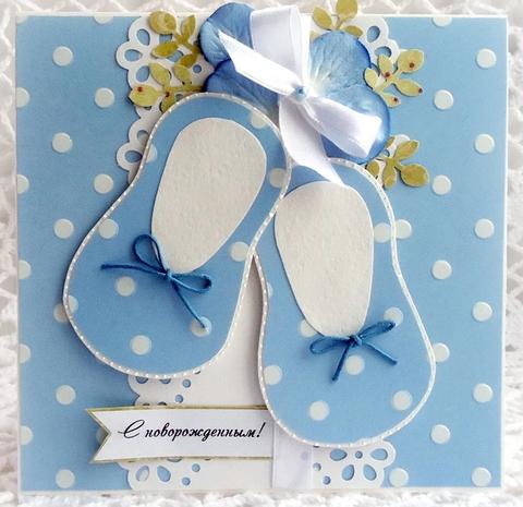 Печать на сахарной бумаге, С Новорожденным 4