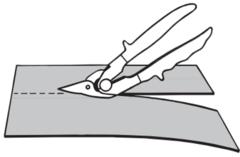 Ножницы для длин. прям. резания лист. металла 260 мм