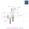 Гигиенический душ с автоматическим затворным клапаном RS-Q 114602WC - фото №2
