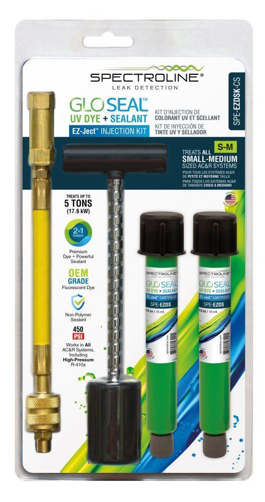Комплект для впрыскивания красителя и герметика GLO Seal