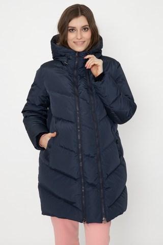 Зимняя куртка 2 в 1 для беременных 12130 синий