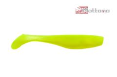 Виброхвост  Mottomo Hitman 9см Chartreuse Silk Glow 6шт.