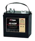 Тяговый аккумулятор Trojan 6V-AGM ( 6V 200Ah / 6В 200Ач ) - фотография