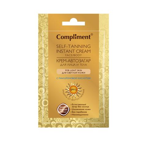 Compliment Крем- автозагар для лица и тела для светлой кожи