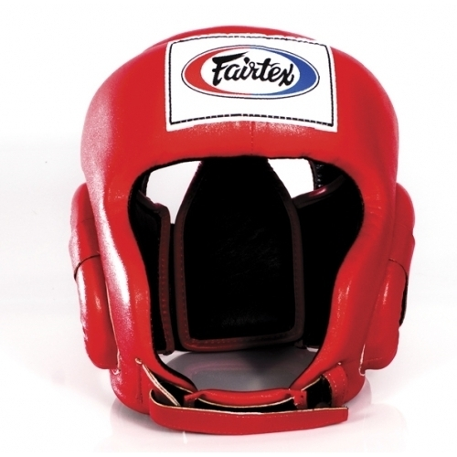 Шлемы Шлем Fairtex Headguard HG6 Red& 1.jpg