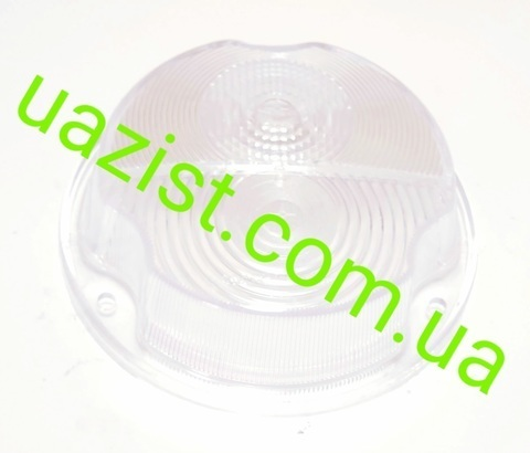 Стекло фонаря переднего (подфарника) Уаз 452, 469, Хантер (белое)