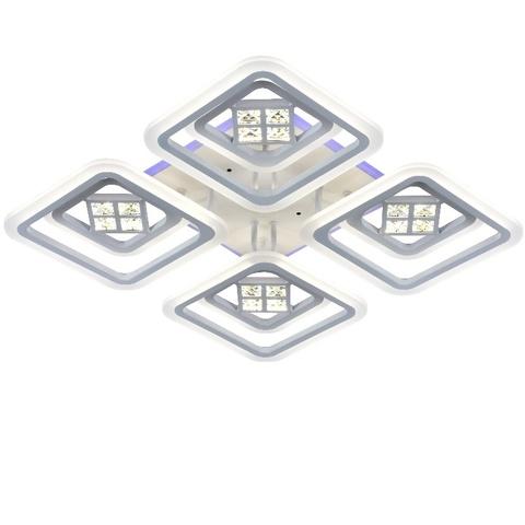 Потолочная светодиодная люстра MX-8859/4+4D WH