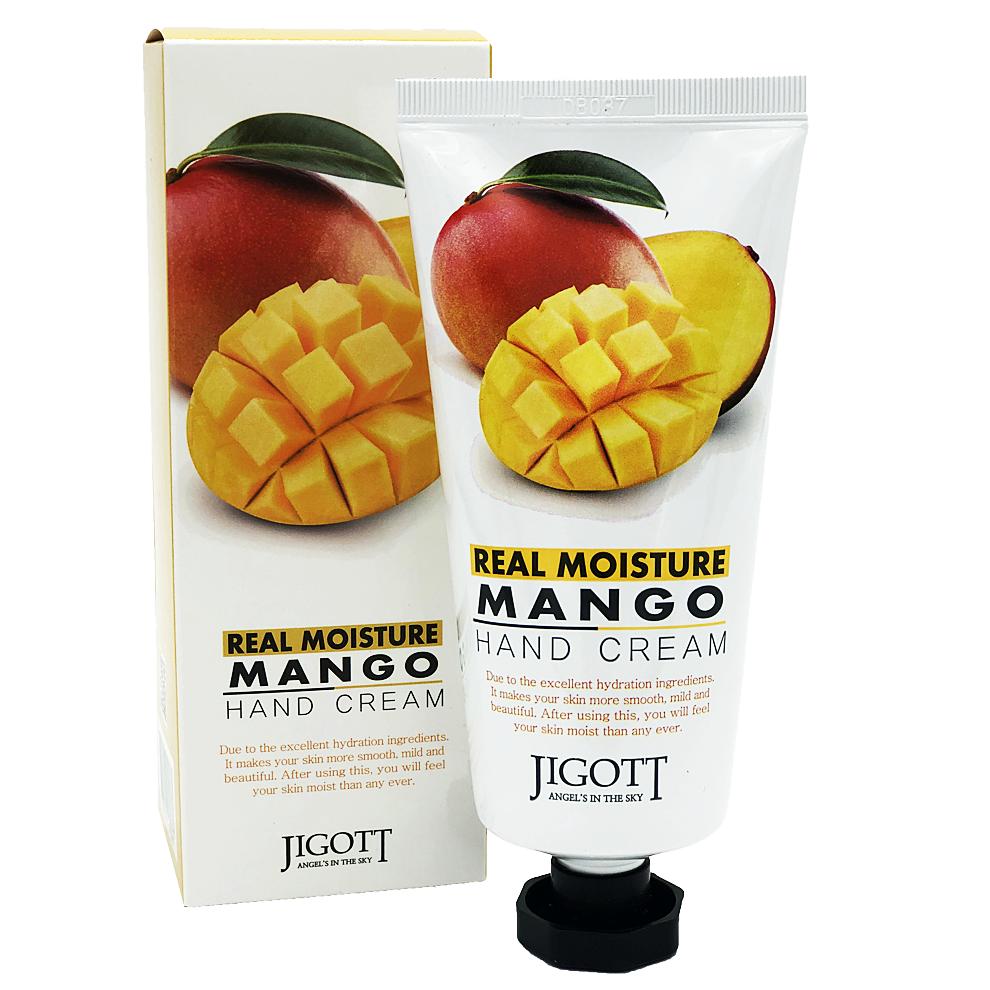 JIGOTT Крем для рук МАНГО  JIGOTT Real Moisture MANGO Hand Cream 100 мл 439974509605b322035c72_original.jpg