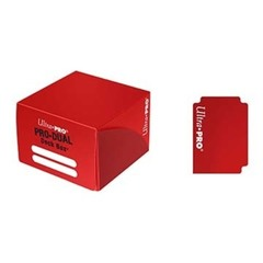 Dual Standard Deck Box Red (UP)