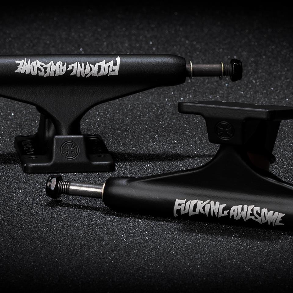 Подвески для скейтборда INDEPENDENT x FUCKING AWESOME Stage 11 Ltd. Standard (Matte Black)