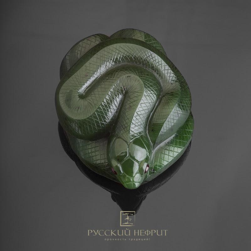 Г. Волгин Камень для медитации Змей Змея_нефрит.jpg