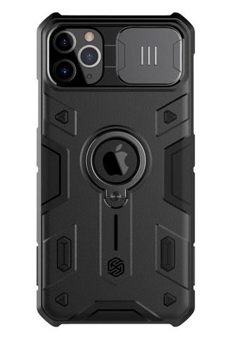 Чехол на смартфон iPhone 11 Pro от Nillkin серии CamShield Armor Case с шторкой для защиты камеры
