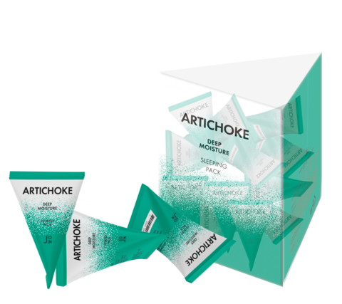 Маска для лица J:ON Artichoke Deep Moisture Sleeping Pack, 1 шт * 5гр
