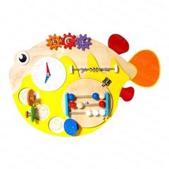 Бизиборд «Рыба ёж»