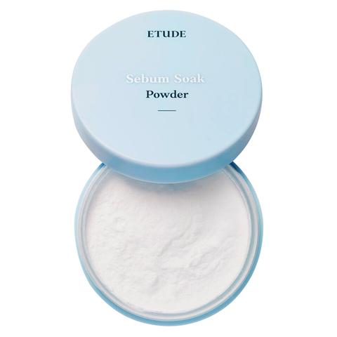 Etude House Sebum Soak Powder рассыпчатая пудра для жирной и комбинированной кожи