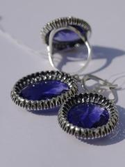 Эгоист (кольцо + серьги из серебра)