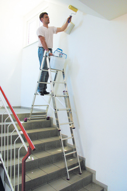 Универсальная лестница с доп. функцией 3х6