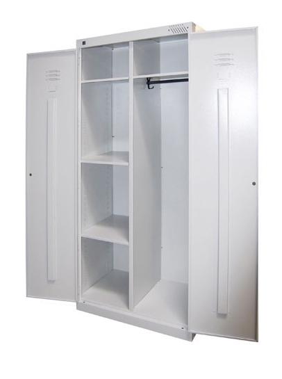 Универсальный металлический шкаф