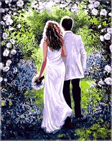 Алмазная Мозаика 30x40 Свадебное настроение
