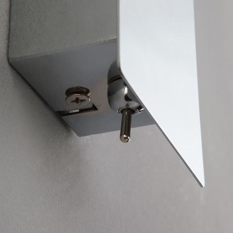 Светодиодный настенный светильник с выключателем 20064/1 LED хром