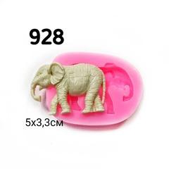 0928 Молд силиконовый. Слоник маленький.