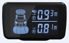 Парктроник 4Drive 8X-61/D58 BL GPS на 8 датчиков черного цвета