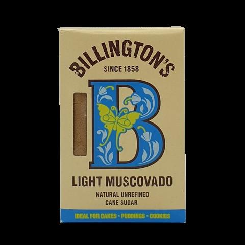 Сахар тростниковый светло-коричневый D.Muscovado BILLINGTON'S, 500 гр