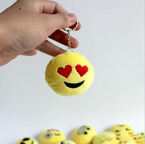 Брелки Смайлики — Smiley Keychain
