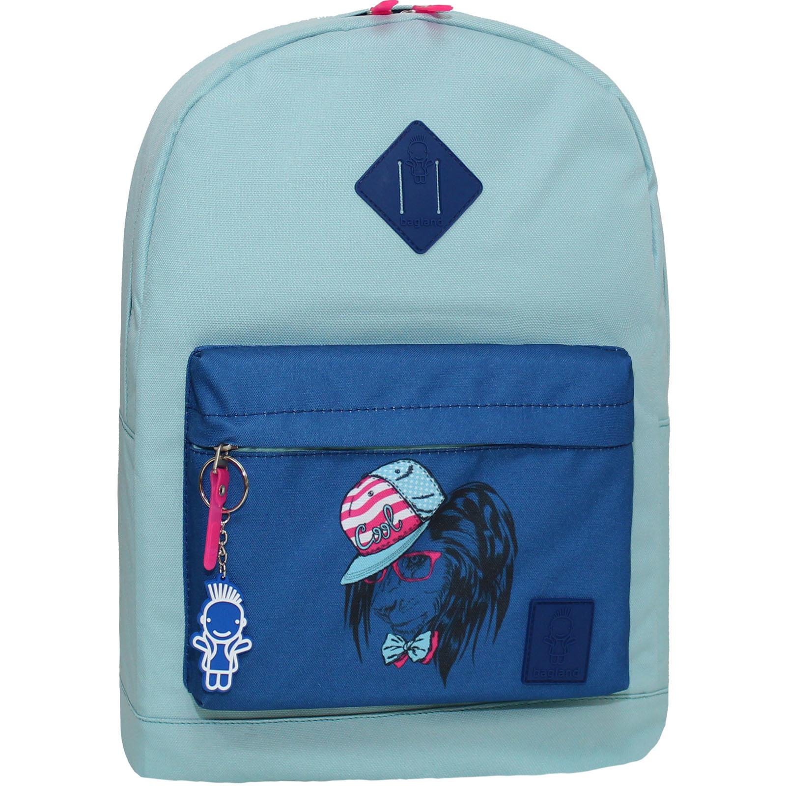 Городские рюкзаки Рюкзак Bagland Молодежный W/R 17 л. тиффани 180к (00533662) Без_имени-10_180к.jpg