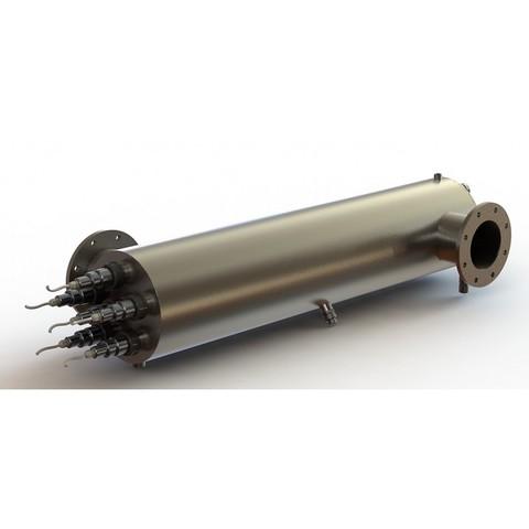Ультрафиолетовая установка УФУ-250, с блок.промывки, датчик. интен-ти, 250 м3/ч, AISI-321, 40мДж/см2 XENOZONE