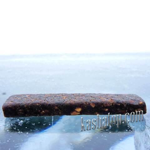 Фруктовая палочка абрикосово-сливовая с орехами 'Леовит', 50г